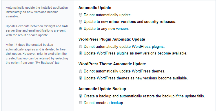 wordpress installatron backup