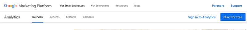 Google Analytics -seurantatilin luominen